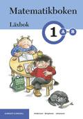 -Matematikboken 1 A-B Läxbok av Karin Andersson