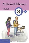 Matematikboken 3 A-B Läxbok av Karin Andersson