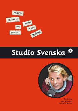 Studio Svenska 1 Grundbok av Boel Nygren