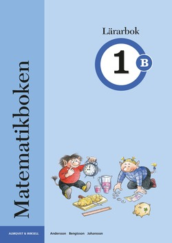 Matematikboken 1 B Lärarbok av Karin Andersson