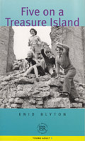 Five on a Treasure Island (B) - Easy Readers av Enid Blyton