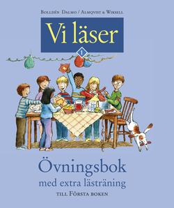 Vi läser Första boken Övningsbok extra lästräning av Ulf Stark