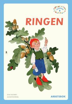 Läsgåvan B, Ringen blå, Arbetsbok av Lena Hultgren