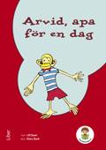 Lilla biblioteket Arvid, apa för en dag 3-pack av Hippas Eriksson