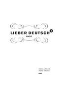 Lieber Deutsch 3 Facit av Christine Hofbauer