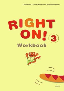 Right On! 3 Workbook av Cecilia Nihlén