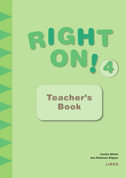 Right On! 4 Teacher's Book av Cecilia Nihlén