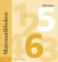 Matematikboken Sifferbok 5-pack av Karin Andersson