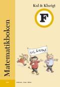 Matematikboken Kul och klurigt F av Karin Andersson