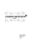 Lieber Deutsch 4 Facit av Christine Hofbauer