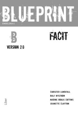 Blueprint B, Version 2.0 Facit av Christer Lundfall