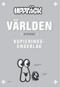 Upptäck Världen Geografi Kopieringsunderlag av Torsten Bengtsson