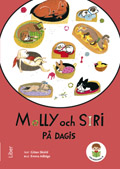 Lilla biblioteket, Molly och Siri på dagis 3-pack av Hippas Eriksson