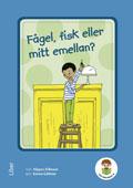Lilla biblioteket, Fågel, fisk eller mitt emellan 3-pack av Hippas Eriksson