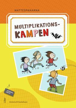 Mattespanarna Multiplikationskampen av Gunnar Kryger