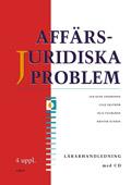 Affärsjuridiska problem Lärarhandledning + cd av Jan-Olof Andersson