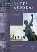 J2000 Rättskunskap & privatjuridik Komm&Lösn av Jan-Olof Andersson