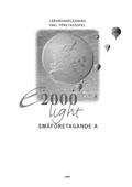 E2000 Light Småföret A Lhl+cd av Jan-Olof Andersson