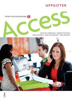 Access Företagsekonomi 1, Uppgiftsbok med cd av Jan-Olof Andersson
