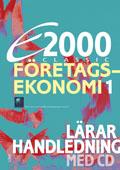E2000 Classic Företagsekonomi 1 Lärarhandleding+CD av Jan-Olof Andersson