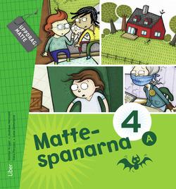 Mattespanarna 4A Grundbok av Gunnar Kryger