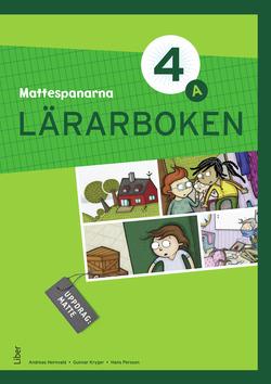 Mattespanarna 4A : lärarboken av Gunnar Kryger