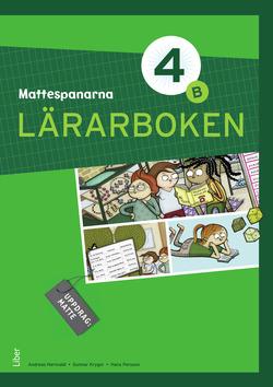 Mattespanarna 4B Lärarboken av Gunnar Kryger