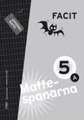 Mattespanarna 5A Facit av Gunnar Kryger