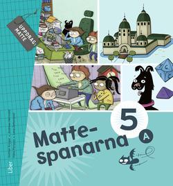 Mattespanarna 5A Grundbok av Gunnar Kryger