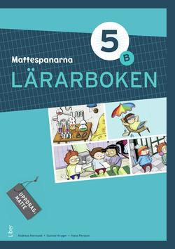 Mattespanarna 5B Lärarboken av Gunnar Kryger