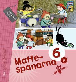 Mattespanarna 6A Grundbok av Gunnar Kryger