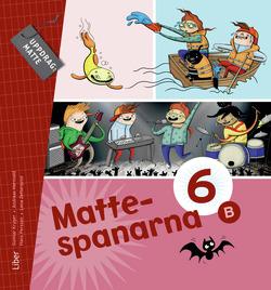 Mattespanarna 6B Grundbok av Gunnar Kryger