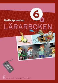 Mattespanarna 6B Lärarboken av Gunnar Kryger