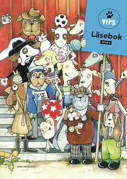 Vips Läsebok 3 av Lena Hultgren