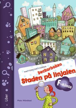 Mattedetektiverna Deckarboken F-klass av Anna Kavén