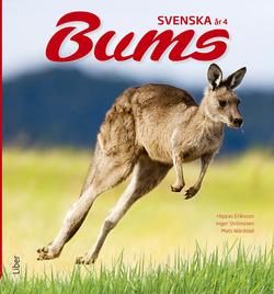 Bums Svenska år 4 Grundbok av Hippas Eriksson