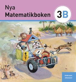Nya Matematikboken 3 B Grundbok av Karin Andersson