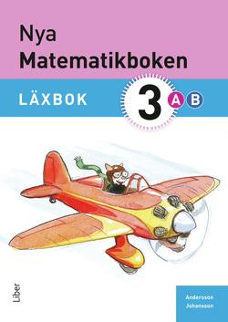 Nya Matematikboken 3 A+B Läxbok av Karin Andersson