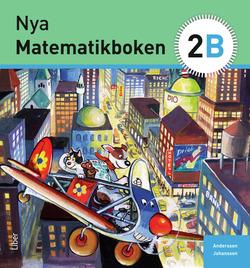 Nya Matematikboken 2 B Grundbok av Karin Andersson