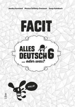 Alles Deutsch 6 Facit av Annika Karnland