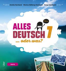 Alles Deutsch 7 Textbok - Tyska för grundskolan av Annika Karnland