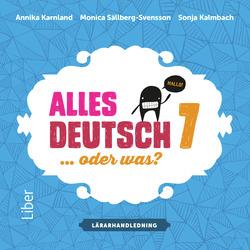 E-bok Alles Deutsch 7 Lärarhandledning cd - Tyska för grundskolan av Annika Karnland