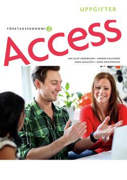 Access Företagsekonomi 2, Uppgiftsbok med cd av Jan-Olof Andersson