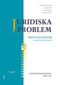 Juridiska problem Lärarhandledning med cd av Jan-Olof Andersson