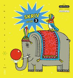 Stjärnsvenska Skriv i nivåer 03 av Åsa Andersson