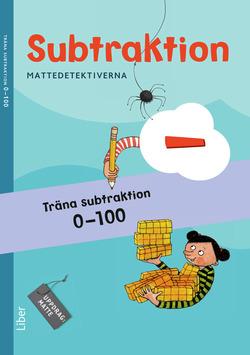 Mattedetektiverna Träna Subtraktion 0-100 10-pack av Anna Kavén