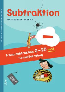 Mattedetektiverna Träna Subtraktion 0-20 med tiotalsövergång 10-pack av Anna Kavén