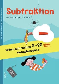 Mattedetektiverna Träna Subtraktion 0-20 utan tiotalsövergång 10-pack av Anna Kavén