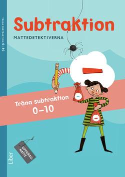 Mattedetektiverna Träna Subtraktion 0-10 10-pack av Anna Kavén