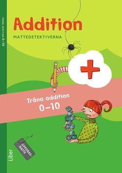 Mattedetektiverna Träna Addition 0-10 10-pack av Anna Kavén
